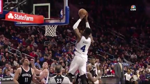 State Farm Assist of the Game | Sixers vs Nets (2/6)
