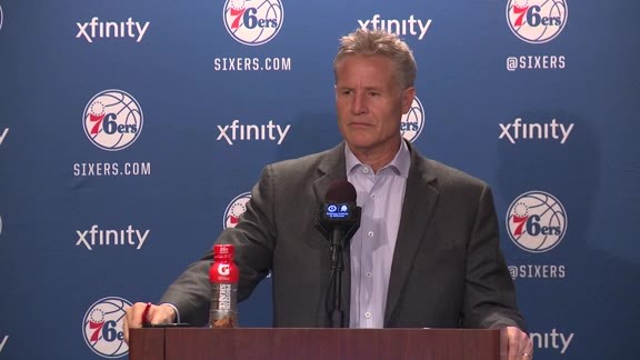 Postgame: Brett Brown (2/10)