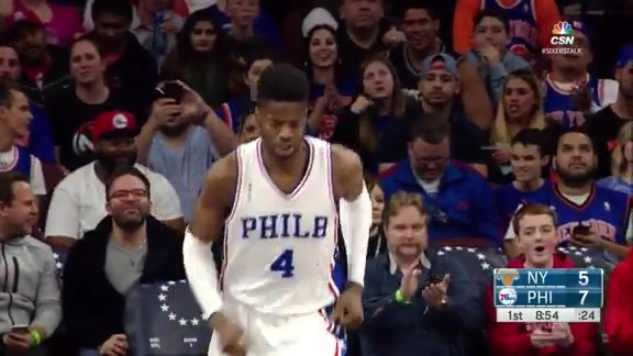 Highlights: Nerlens Noel vs New York Knicks