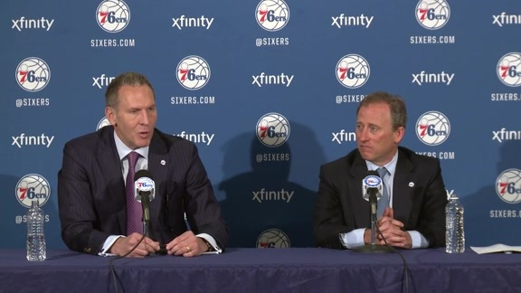 Bryan Colangelo Press Conference