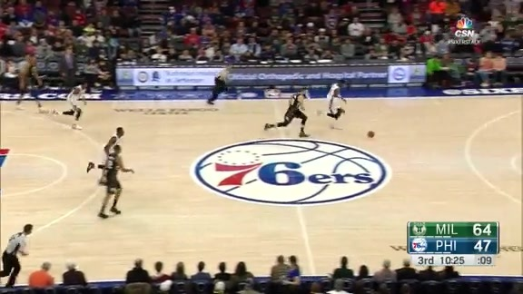 Highlights: Nerlens Noel vs Milwaukee Bucks