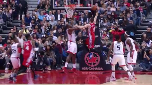 Highlights: Nik Stauskas vs Toronto Raptors