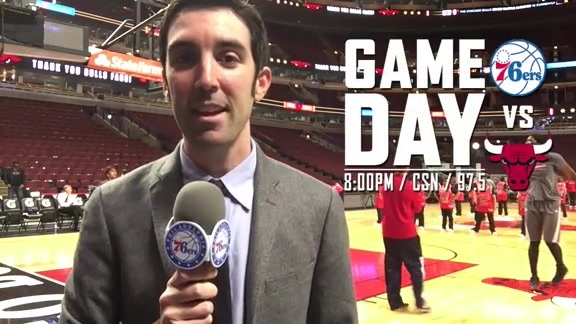 Game Day Report | vs Chicago Bulls (4/13)