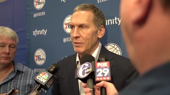 Bryan Colangelo talks Simmons, NBA Draft
