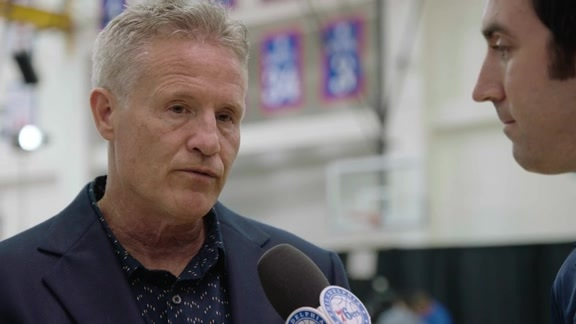 Draft Day 1-on-1 with Coach Brett Brown