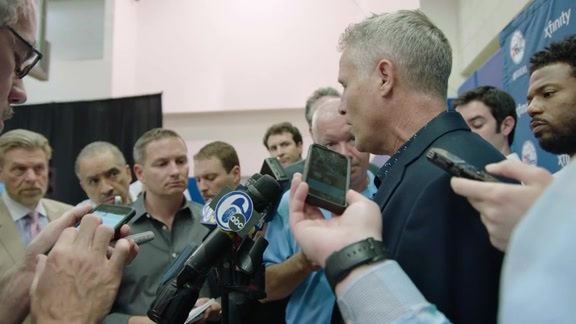 Brett Brown Draft Day Presser