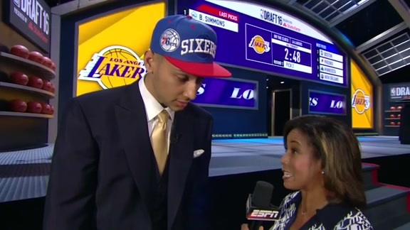NBA Draft 2016 | Ben Simmons ESPN Interview