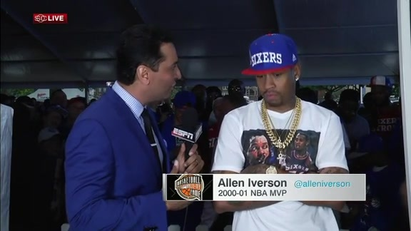 Allen Iverson's advice for Ben Simmons