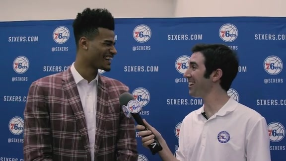 1-on-1 with Timothe Luwawu