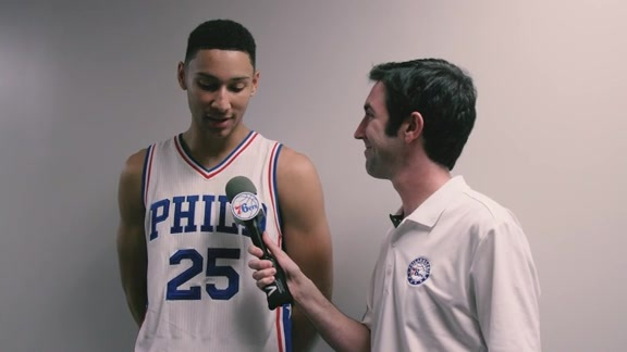 1-on-1 with Ben Simmons