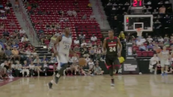 Las Vegas Summer League Highlights | 76ers vs Bulls