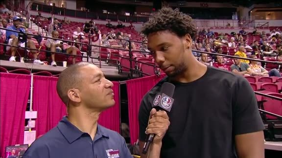 Jahlil Okafor Interview with J. A. Adande