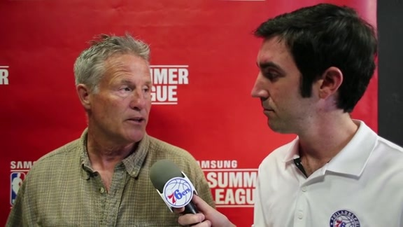 1-on-1 with Coach Brett Brown | Summer League