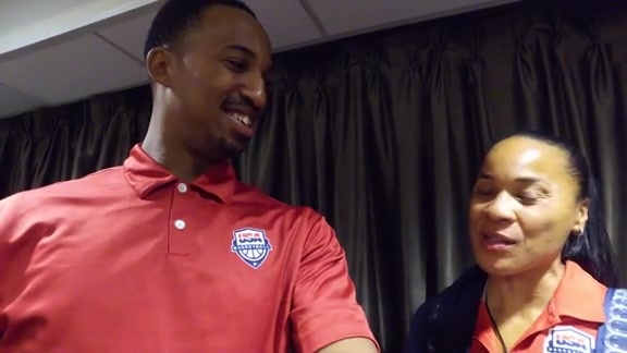 1-on-1 with Christian Crosby | Dawn Staley