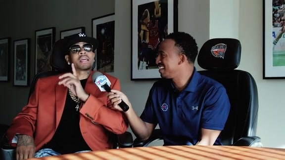 Allen Iverson 1-on-1 with Christian Crosby | #AIWeek