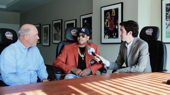Allen Iverson Interview with Brian Seltzer & Tom McGinnis | #AIWeek