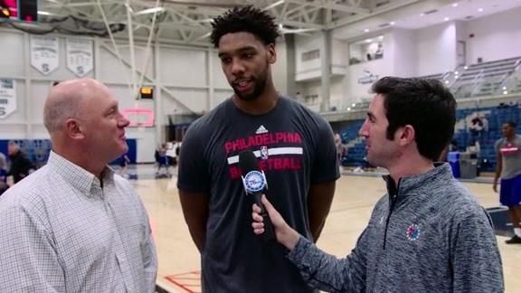 1-on-1 with Jahlil Okafor | 16-17 Training Camp