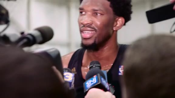 Joel Embiid Media Availability | 16-17 Training Camp (Day 1)