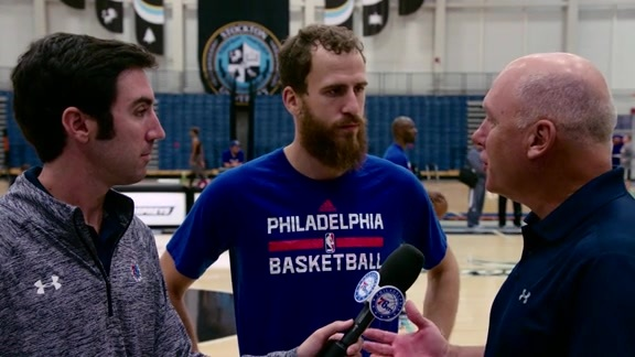 1-on-1 with Sergio Rodriguez | 16-17 Training Camp