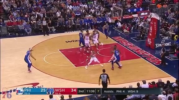 Joel Embiid | Highlights vs Wizards (10.18.17)
