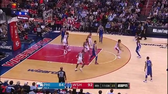Highlights | Robert Covington vs Wizards (10.18.17)
