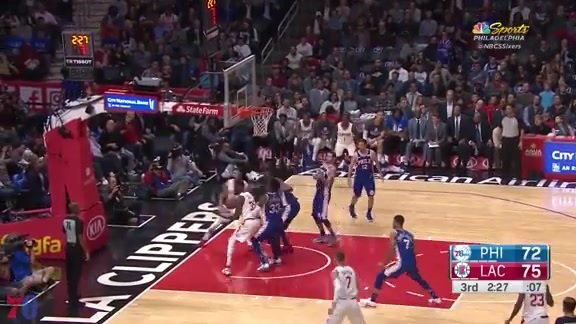 Highlights | Robert Covington vs Clippers (11.13.17)