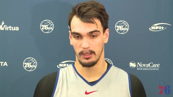 Shootaround | Dario Saric vs Jazz (11.20.17)
