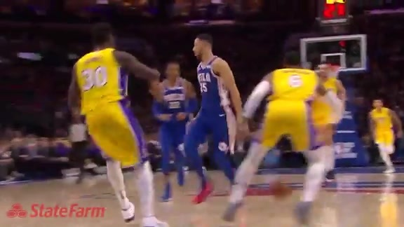 State Farm Assist of the Game | vs Lakers (12.07.17)