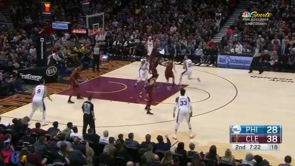 Highlights | Ben Simmons vs Cavaliers (12.9.17)