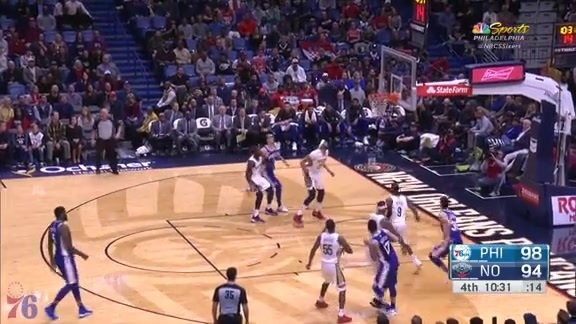Highlights | JJ Redick at Pelicans (12.10.17)