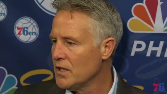 Brett Brown | Postgame vs Pelicans (12.10.17)