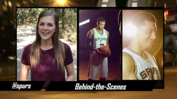 Spurs Social Spotlight: Behind the Scenes Media Day