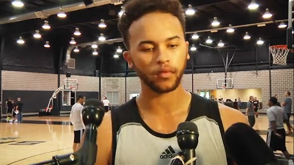 Kyle Anderson: Training Camp Day 4