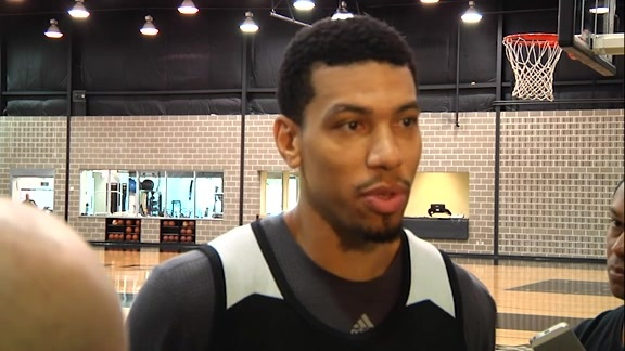 Danny Green: Training Camp Day 5