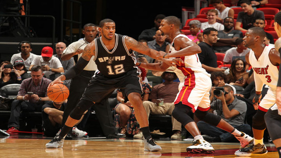Spurs at Heat: Aldridge Highlights