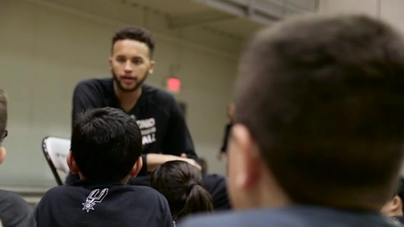 Kyle Anderson - Spurs Clinic