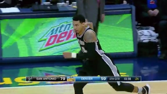 Did You Hear That? Danny Green Hits the Three, Spurs up by 20