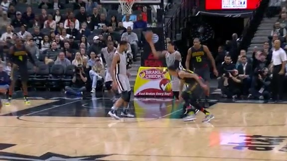 Assist of the Game: Green Catapults to Parker