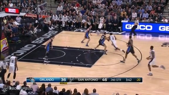 Assist of the Game: Kawhi Spins and Dishes to Lamarcus