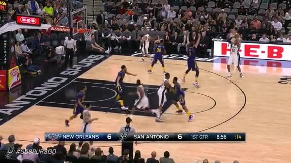 Assist of the Game: D West Alley to Kawhi