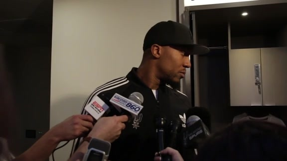 David West: Postgame 2/3