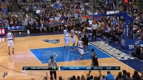 Highlights: Kawhi Throws Down 23 Points Against Mavs