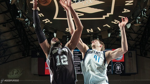 Highlights: Spurs at Mavs
