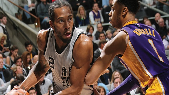 Highlights: Spurs vs Lakers