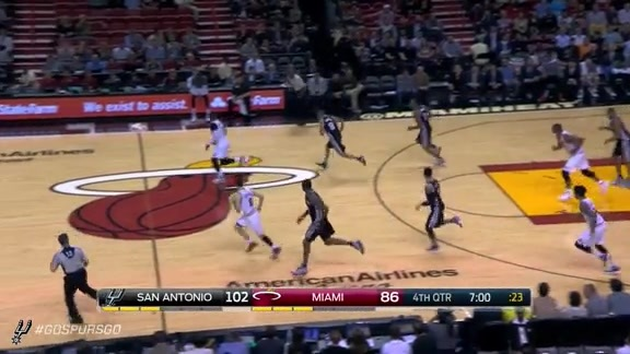 Highlights LaMarcus Scores 28 Points vs the Heat