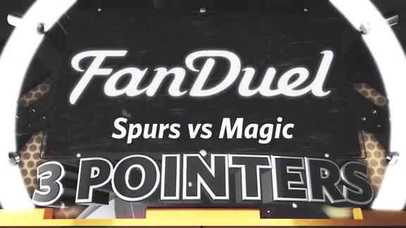 FanDuel 3 Pointers: Spurs vs Magic