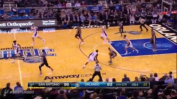 Highlights: LaMarcus Scores 21 Points Against the Magic