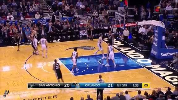 Highlights: Patty with 17 Points at Orlando