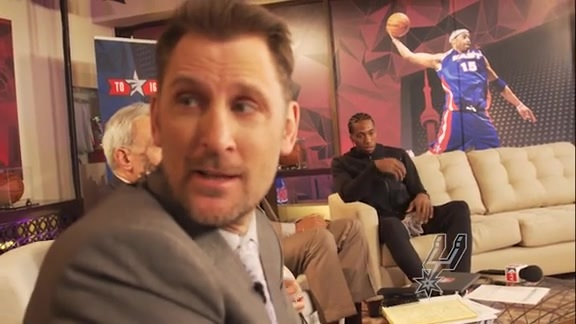 Brent Barry on Kawhi