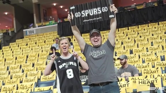 Go Spurs On the Go: Round 1 in Memphis